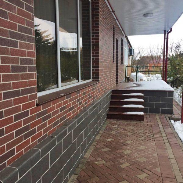 Фасадные панели АМК- кирпичная кладка