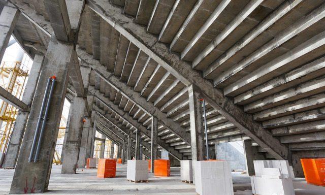 Стадион Газобетонные блоки